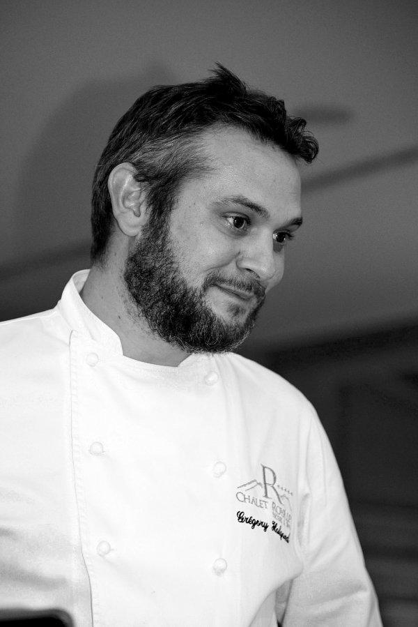Gregory Halgand, Chef, Chalet Royalp, Suisse