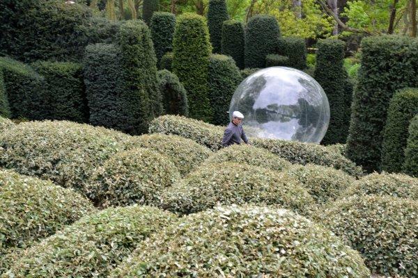 L'hiver au Jardin d'Etretat